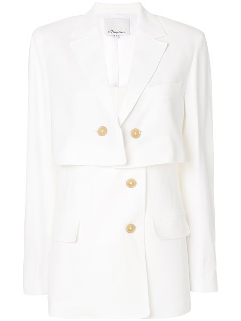 3.1 Phillip Lim Button Layered Blazer - Farfetch