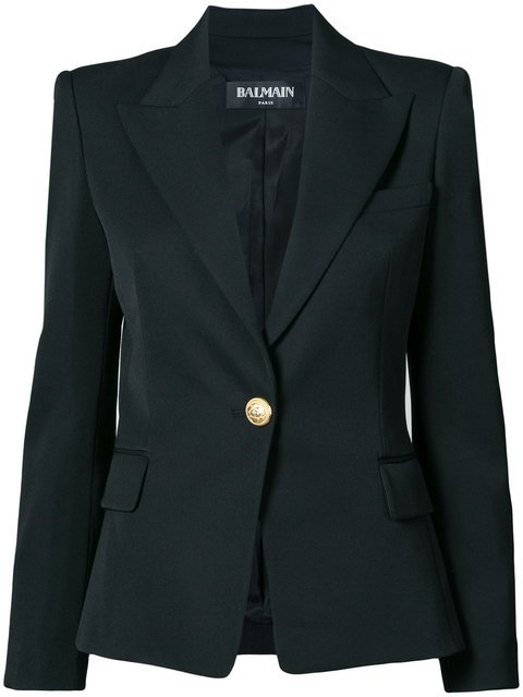 Balmain Tailored Slim-fit Jacket - Farfetch