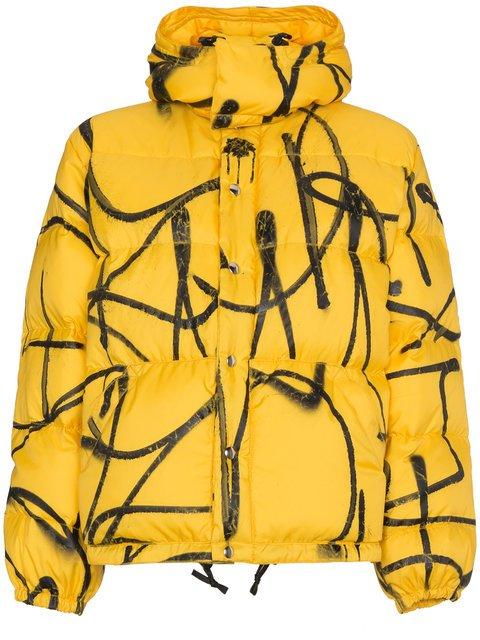 Adaptation Saber Graffiti Puffer Jacket - Farfetch