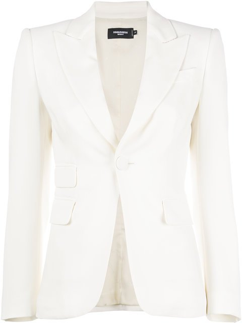 Dsquared2 Formal Fitted Blazer - Farfetch