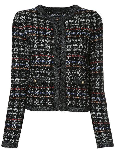 Loveless Cropped Tweed Jacket  - Farfetch