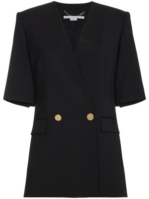 Stella McCartney Black Lea Tailoring Jacket - Farfetch
