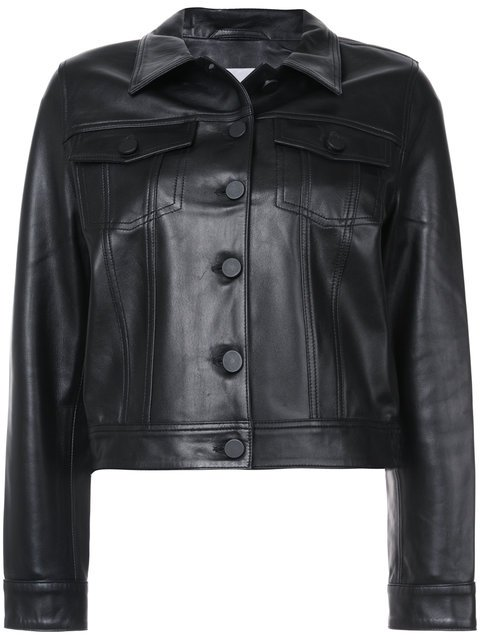Anine Bing Cooper Leather Jacket  - Farfetch