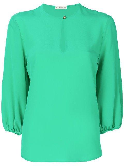 Etro Puff Sleeve Blouse - Farfetch