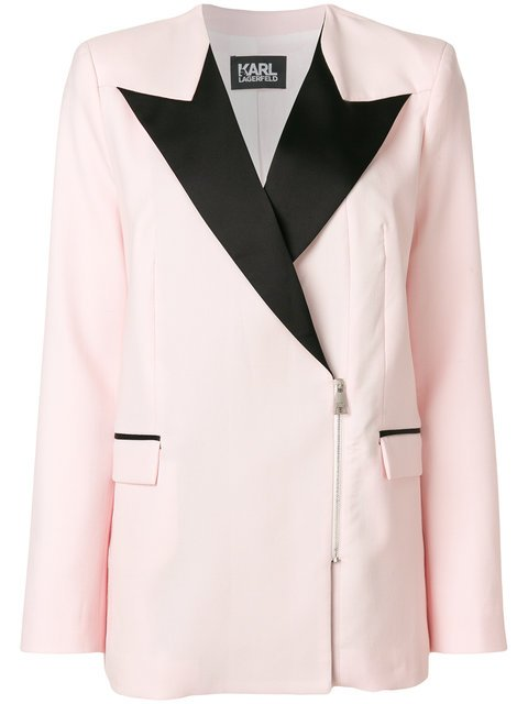 Karl Lagerfeld Zipped Summer Blazer - Farfetch