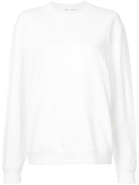 Proenza Schouler PSWL Oversized Sweatshirt - Farfetch