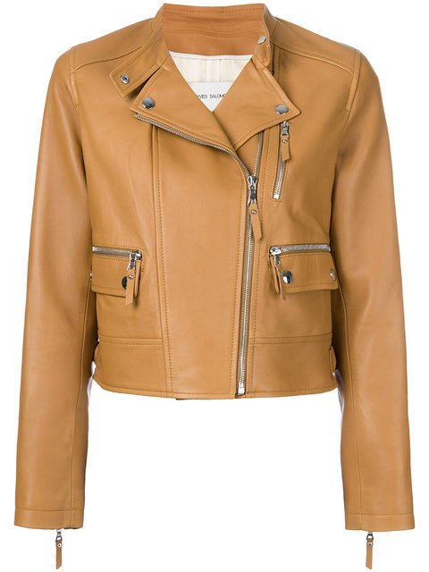 Yves Salomon Classic Biker Jacket - Farfetch