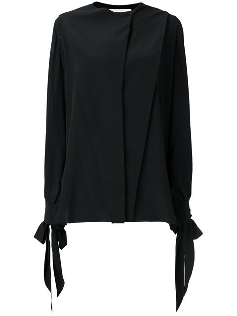 Givenchy Flared Long-sleeve Blouse - Farfetch