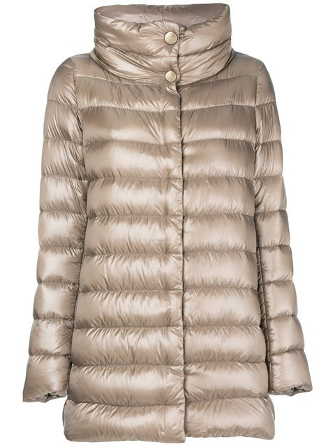 Herno Funnel-neck Padded Coat - Farfetch