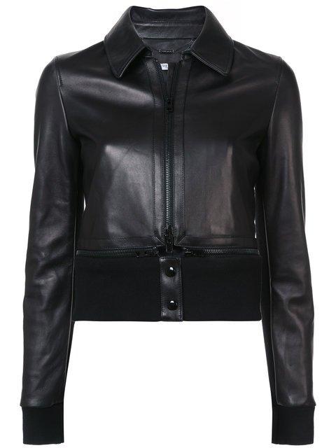 Givenchy Cropped Biker Jacket - Farfetch