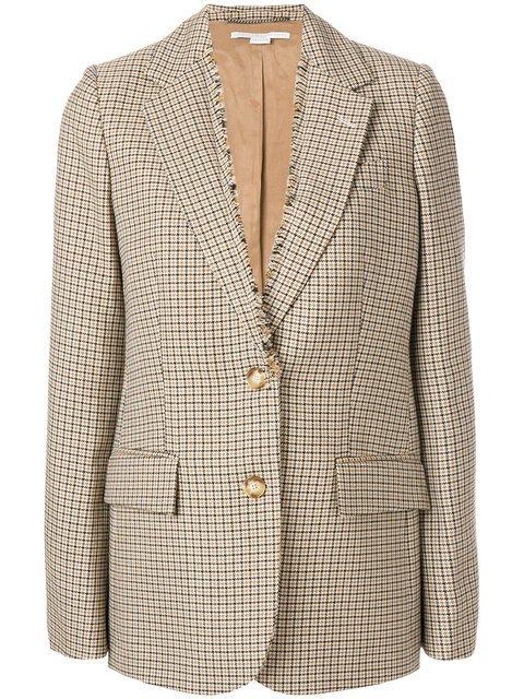 Stella McCartney Long Fit Distressed Blazer - Farfetch