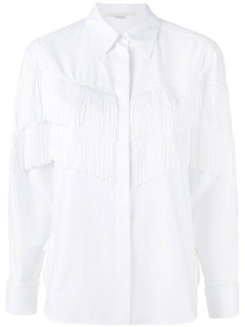 Stella McCartney Alina Fringe Shirt - Farfetch