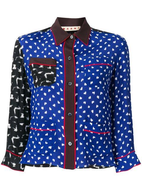 Marni Multi Panelled Pyjama Shirt - Farfetch