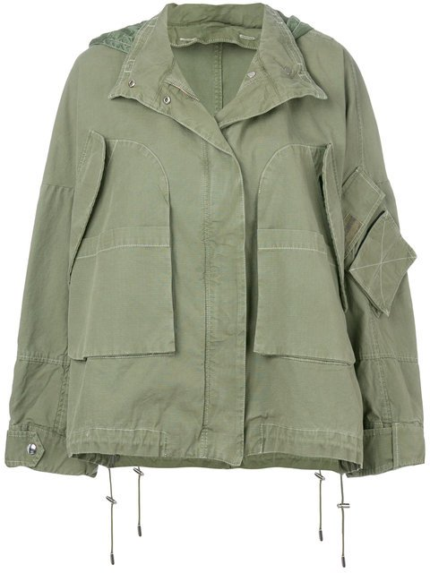 Yves Salomon Army Oversize Jacket - Farfetch