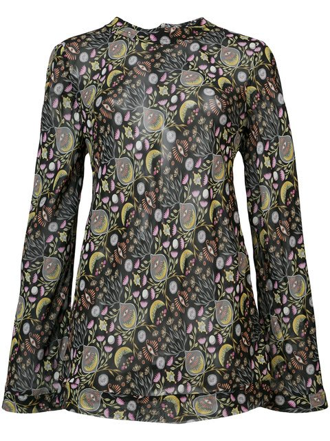 Chloé Abstract Print Blouse - Farfetch