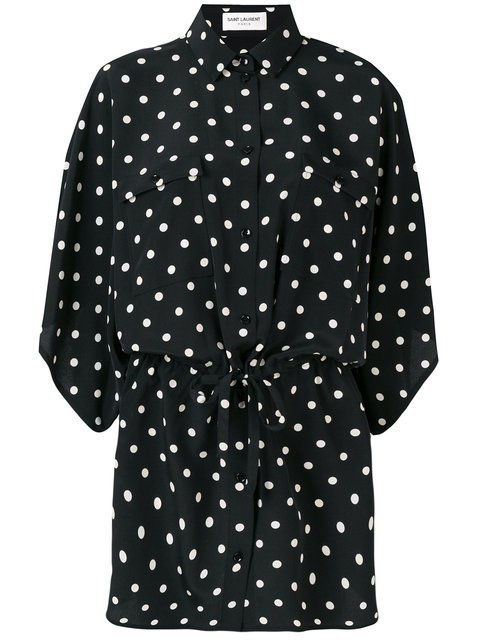 Saint Laurent Classic Polka-dot Blouse - Farfetch