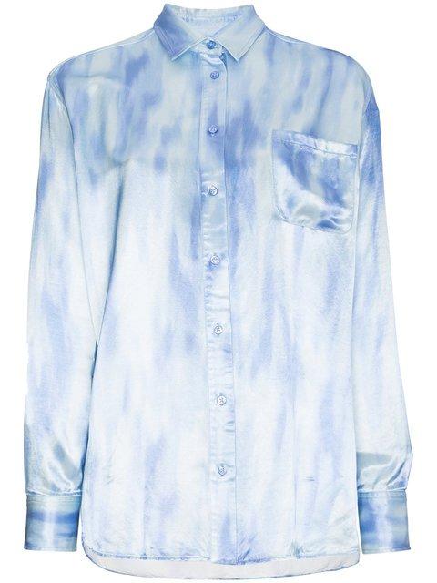 Sies Marjan Tie Dye Long Sleeve Buttoned Shirt - Farfetch