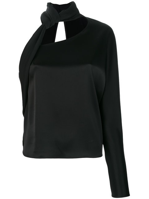 Lanvin Neck Tie Blouse - Farfetch