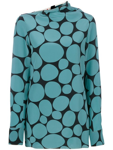 Marni Mosaic Top - Farfetch