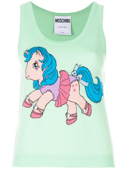 Moschino My Little Pony Print Tank Top - Farfetch
