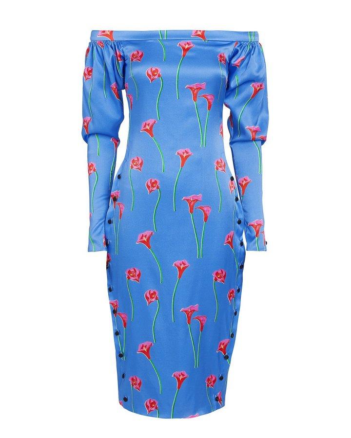 Dania Calla Lily Midi Dress