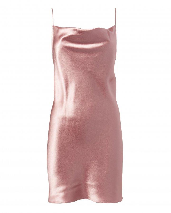 Cowl Neck Slip Dress