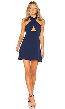 Ember Halter Fit & Flare Dress                                             by the way.