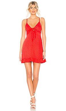 Santorini Tie Front Dress                                             MINKPINK
