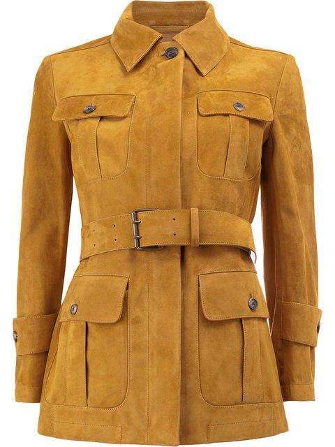 Maison Margiela Belted Safari Jacket - Farfetch