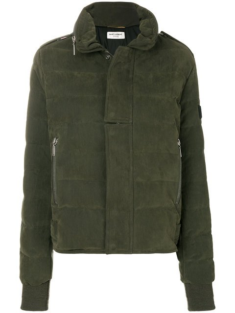 Saint Laurent Puffer Jacket - Farfetch