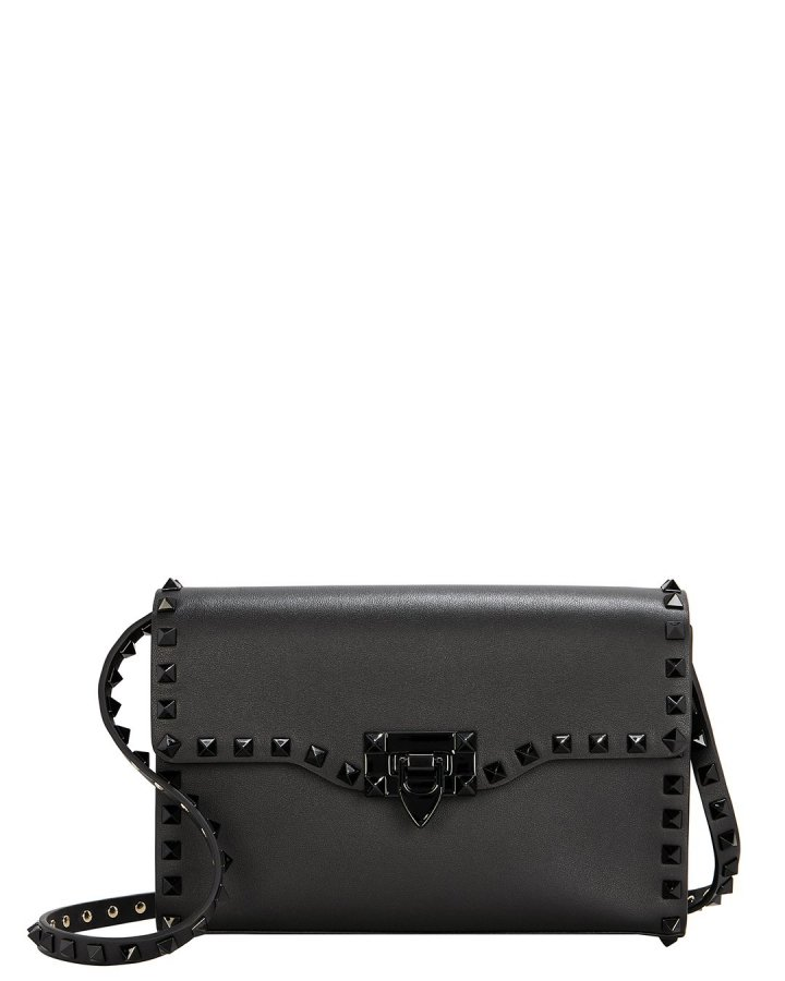 Rockstud Black Crossbody Bag