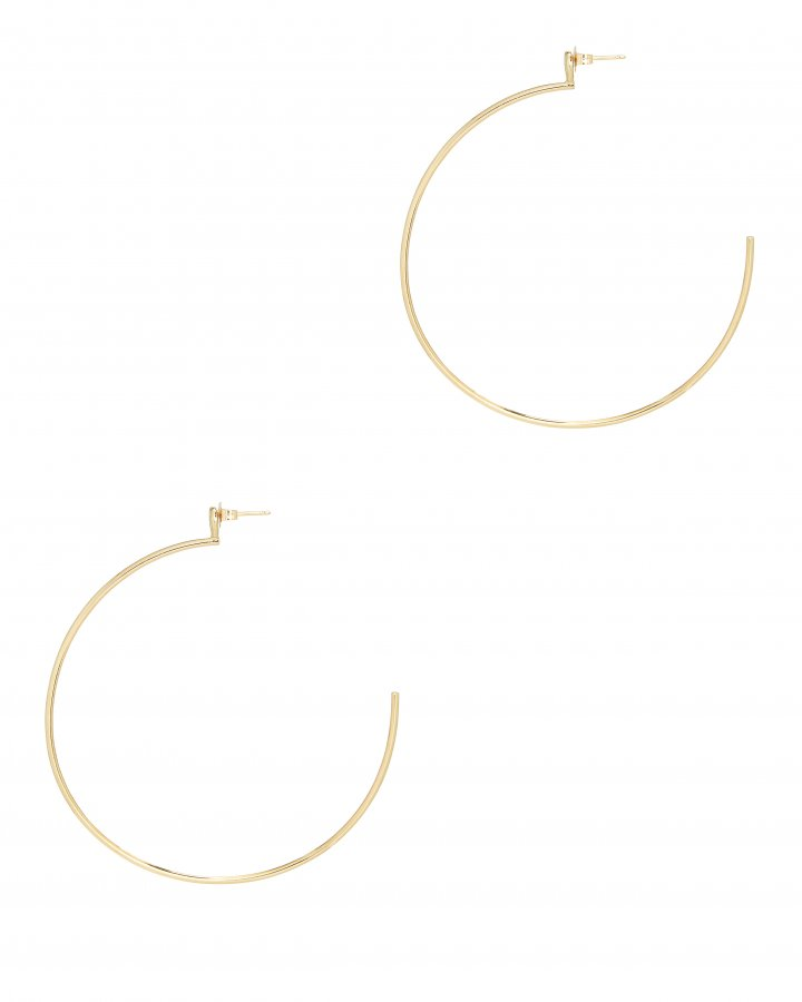 Small Round Hoops