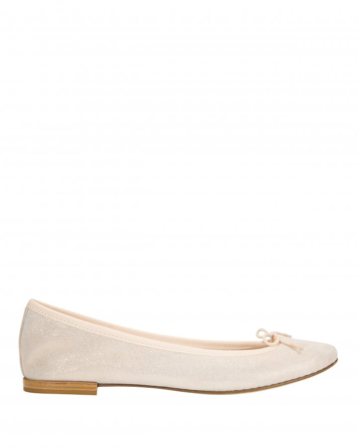 Shimmer Blush Ballet Flats