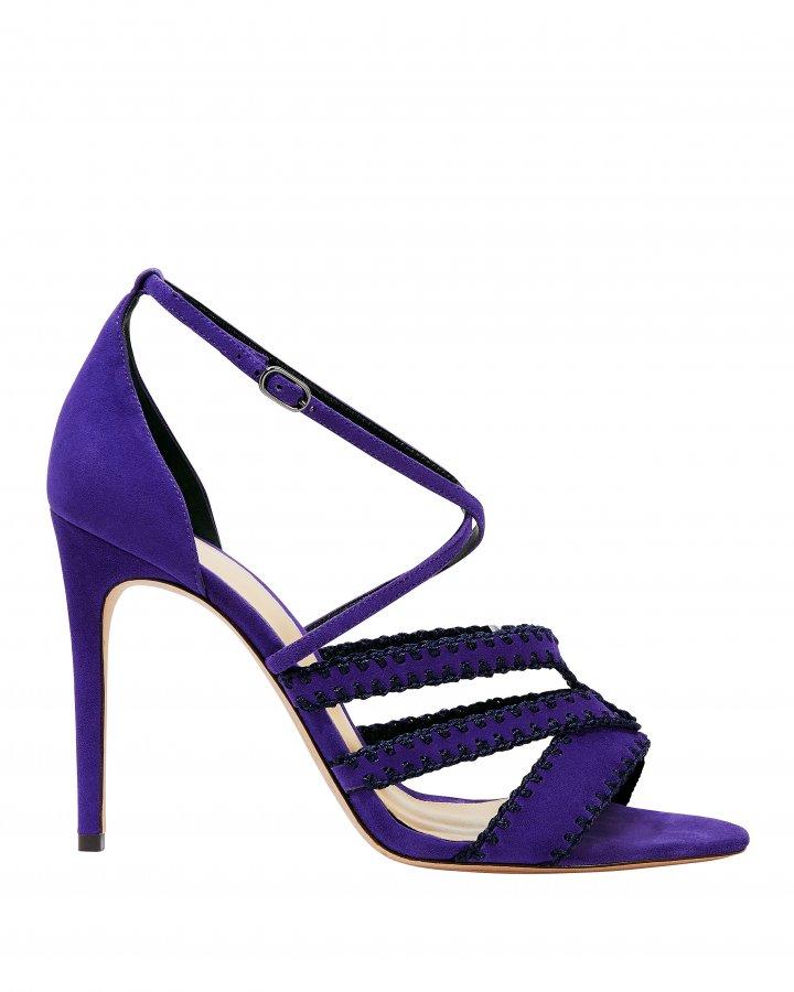 Carrie Crochet Trim Sandals