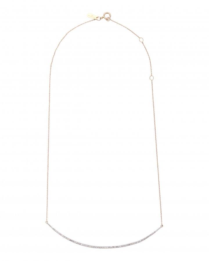 Pavé Curved Collar