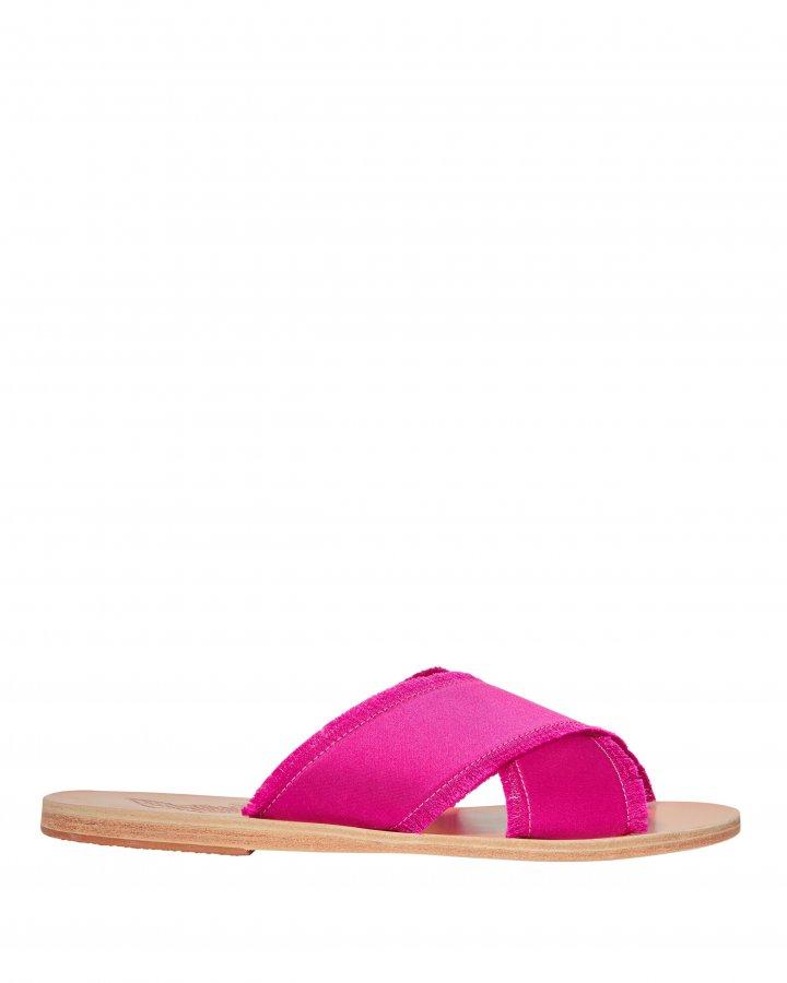 Thais Satin Pink Sandals