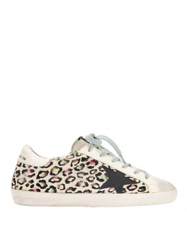 Superstar Multicolor Animal Print Sneakers