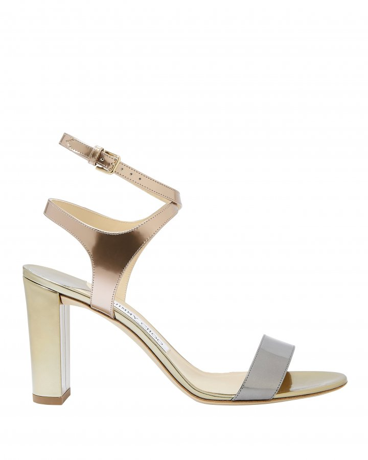 Marine Metallic High Sandals