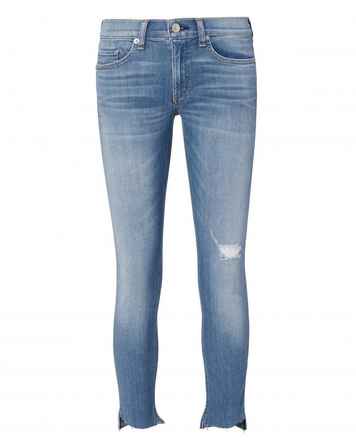 Sunset Capri Step Hem Jeans