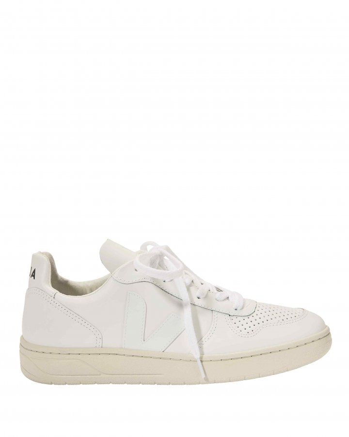 V-10 Perforated Low-Top Sneakers