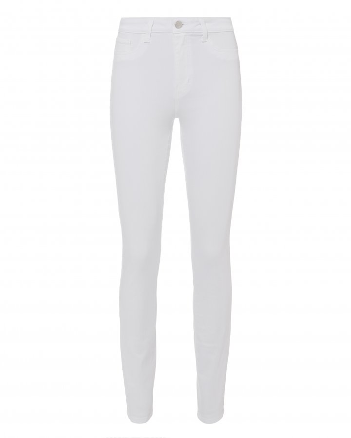 Marguerite High-Rise White Skinny Jeans