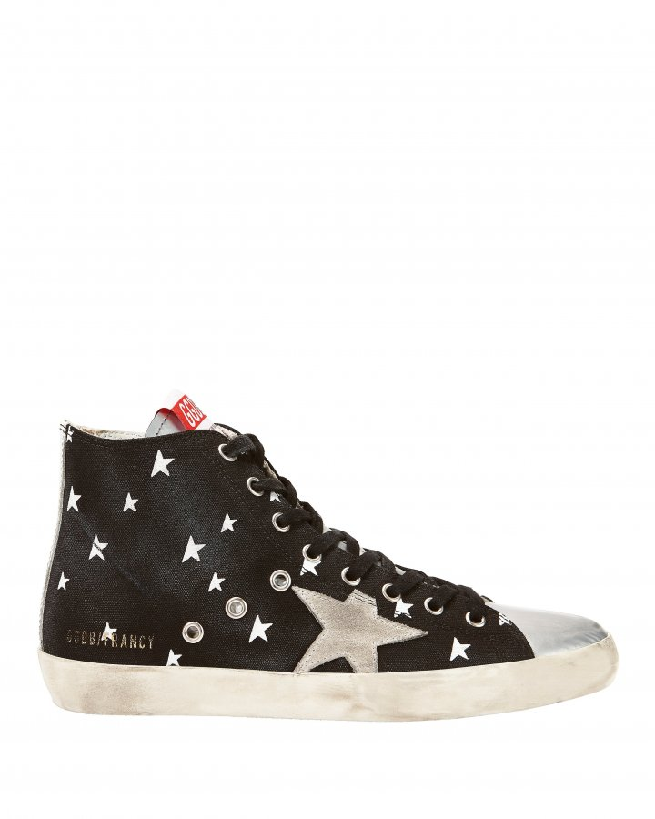 Francy Cosmo High-Top Canvas Sneakers