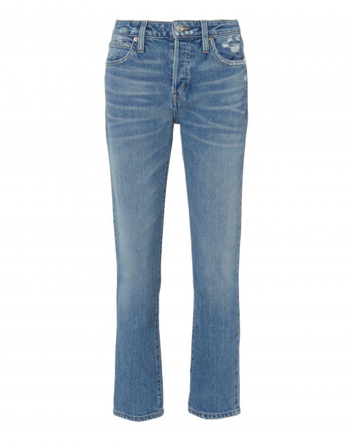 Lou Lou High-Rise Slim Leg Jeans
