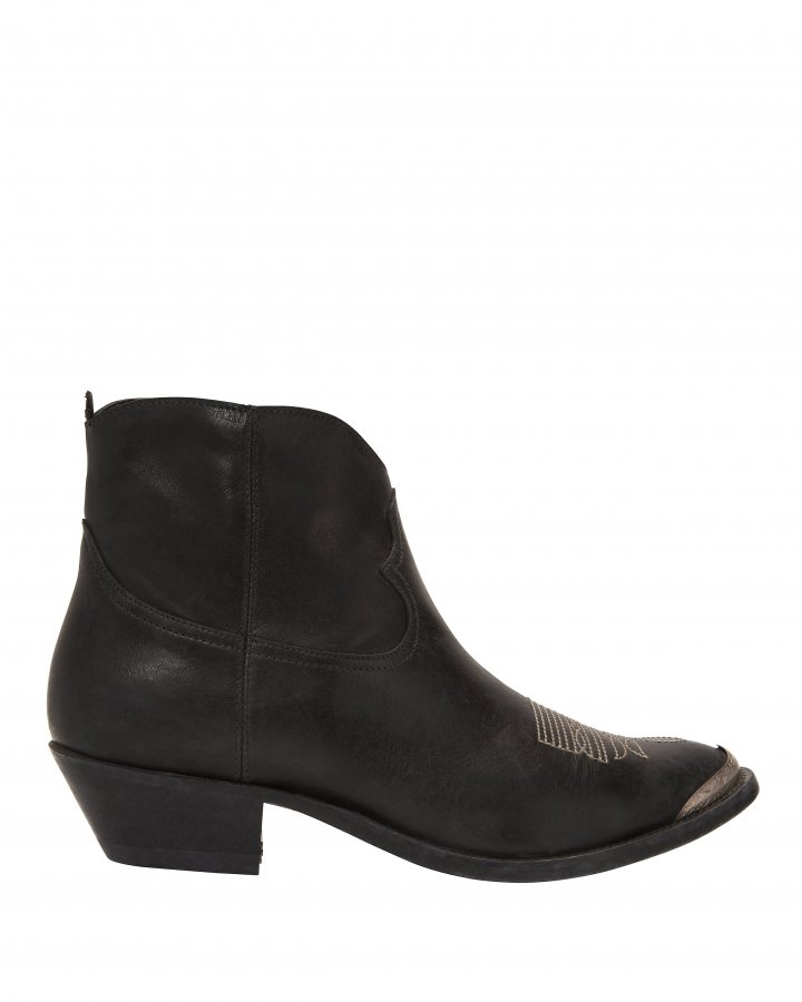Young Western Black Booties