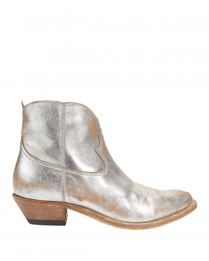 Young Cowboy Metal Tip Boots
