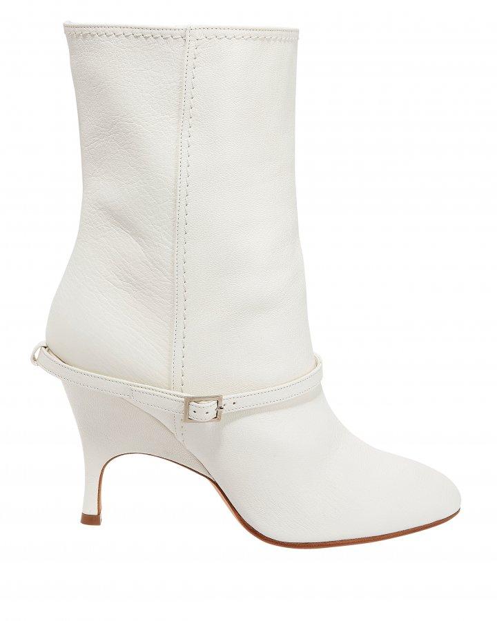 Kara White Boots