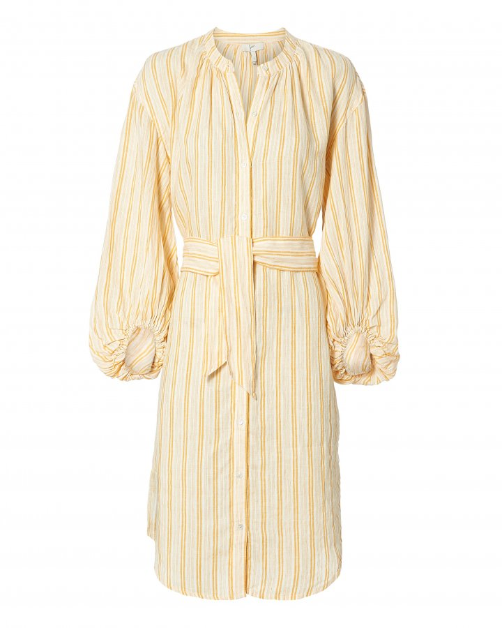 Beatrissa Striped Shirtdress
