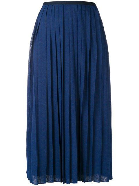 See By Chloé Pleated Mid-length Skirt - Farfetch