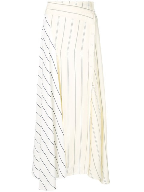 3.1 Phillip Lim Paneled Long Skirt - Farfetch