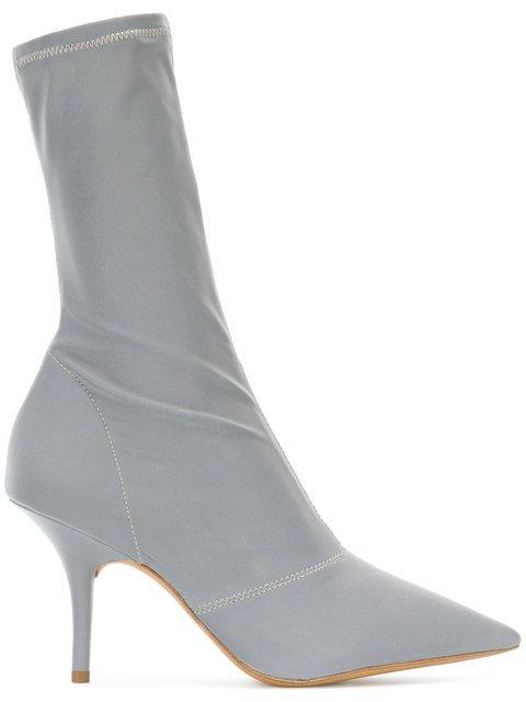 Yeezy Season 6 Reflective Ankle Boots - Farfetch
